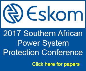 Discover Eskom's paper at 2017 Southern African power system protection conference